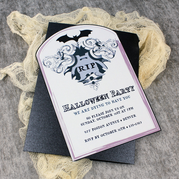 Halloween Download  Print - halloween invitation template