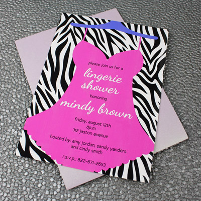 Lingerie Bridal Shower Invitation Template \u2013 Download  Print - bridal shower invitation templates download