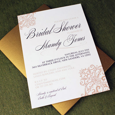 Bridal Shower Download  Print - bridal shower invitation templates