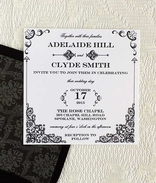 Wedding Invitation Template Sets - wedding template