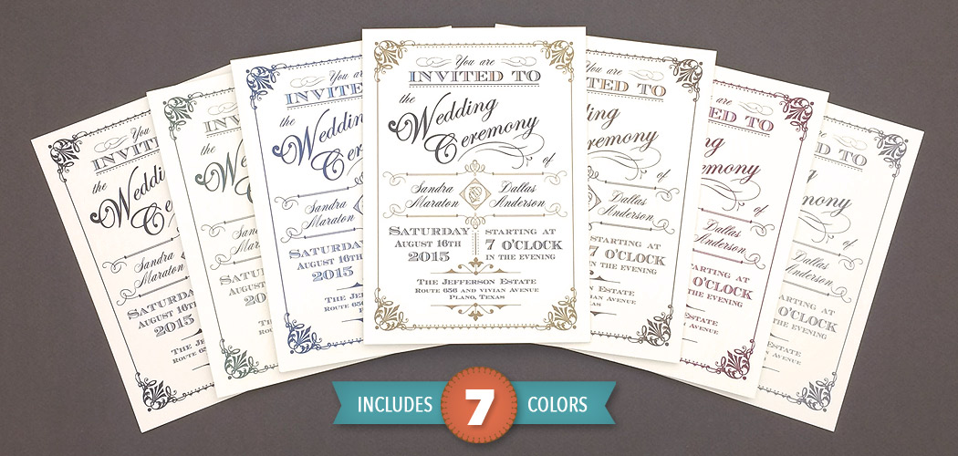 Put a Wedding Invitation Designer in your Back Pocket