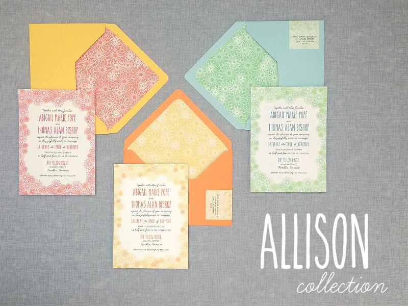 A DIY Floral Wedding Invitation Suite Perfect for Summer - brides invitation templates