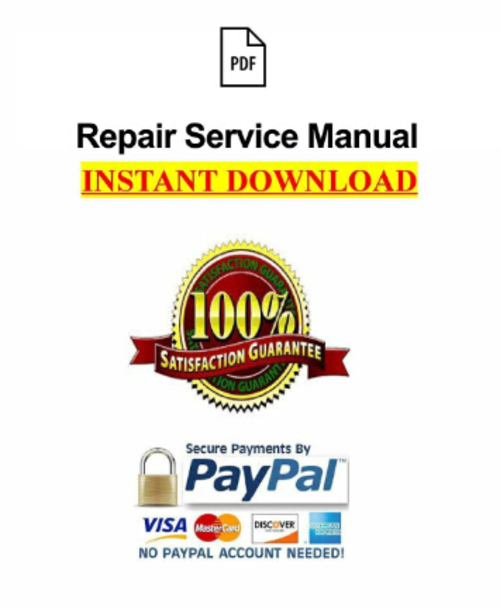2004 Can-Am DS 650 Baja X ATV Workshop Service Repair Manual