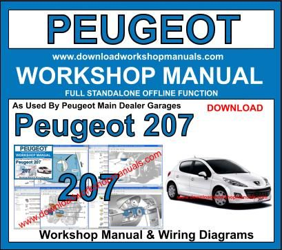 Peugeot 207 Workshop Repair Manual