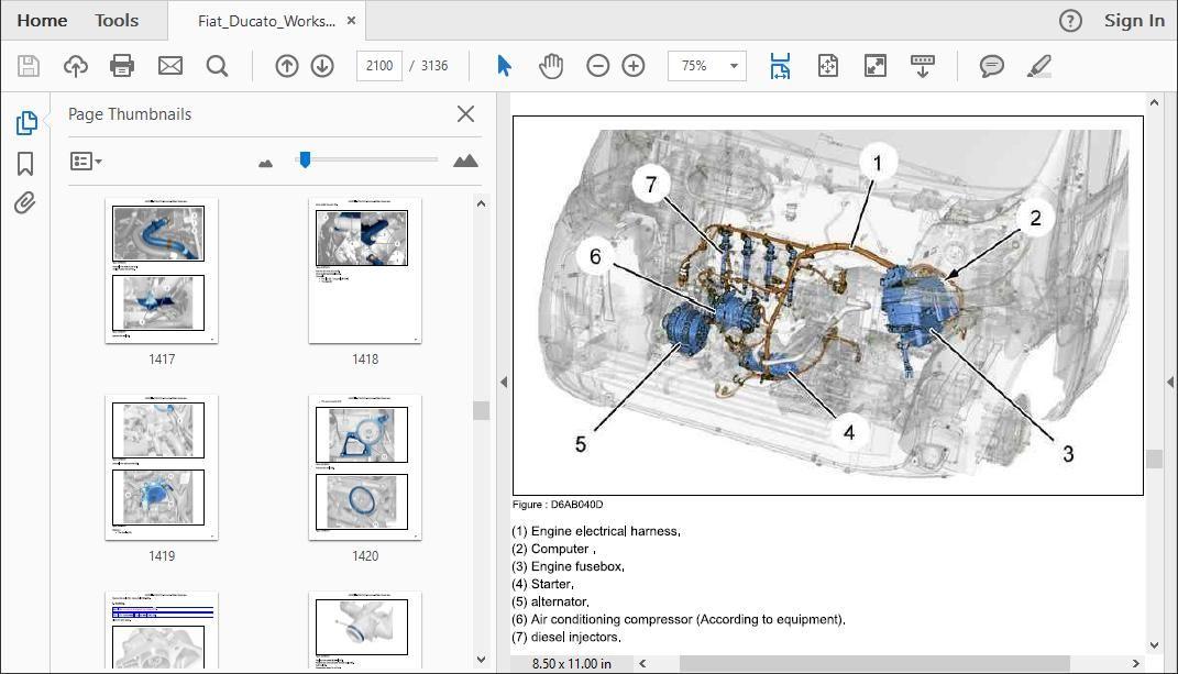 Fiat Ducato Workshop Repair Manual - DOWNLOAD WORKSHOP MANUALS