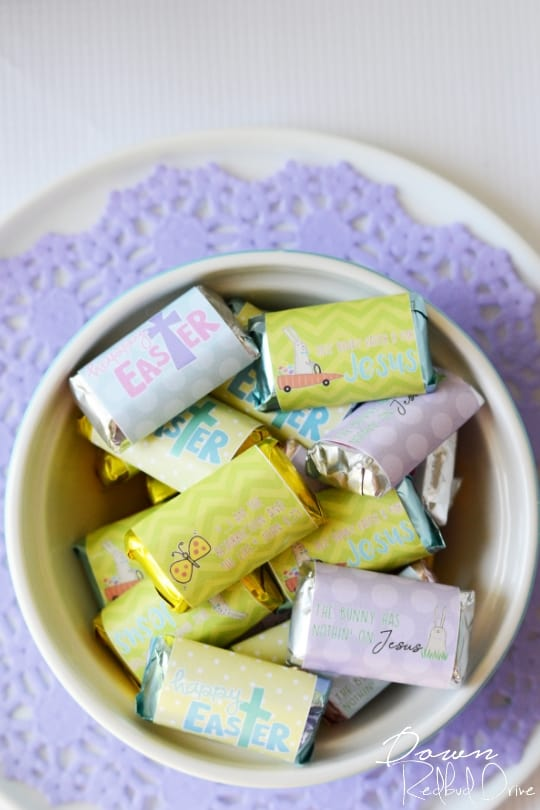 Printable Easter Candy Bar Wrappers Free Candy Bar Wrappers