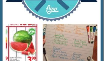 Making a List and Checking it Twice… Summer Food Shopping  #FlippFoodChallenge