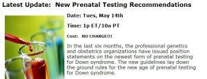 DSAIA Prenatal Testing Webinar