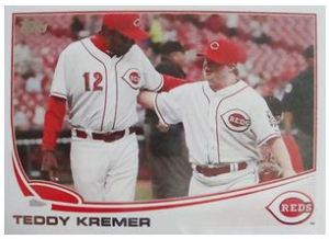 Teddy Kremer TOPPS Card