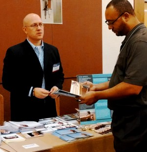 Your author exhibiting at 2014 ACOG Region V & VII conference