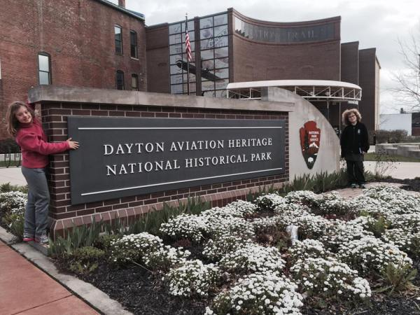 Dayton Aviation Heritage Sign