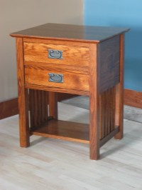 End Table w/ 2 Drawers
