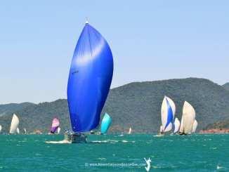 Racing at Audi Hamilton Island Race Week. Photo: Nic Douglass, Adventures of a Sailor Girl