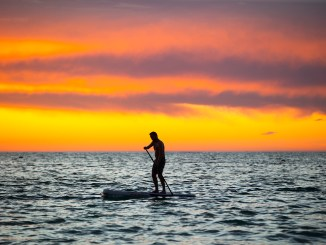 A 10-kilometre paddle event has been confirmed for next year's Lancelin Ocean Classic. Photo: John Carter