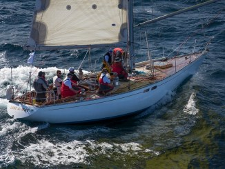 SAILING - Audi Sydney to Gold Coast 2012 - start in Sydney ph. Andrea Francolini LOVE & WAR
