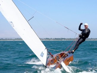 Mark Bulka won the Contender Worlds in a great display of sailing. Photos: VR Sport.tv