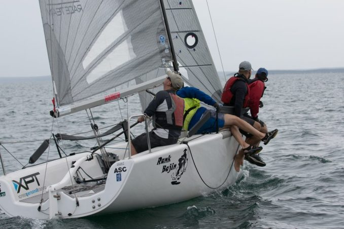 Doug Watson's Rank Bajin sailed well. Photos: Ally Graham