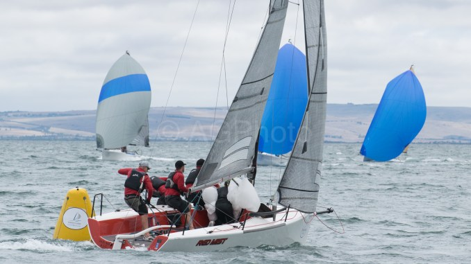 Robbie Deussen's Red Mist was second overall after a great last day. Photos: Ally Graham