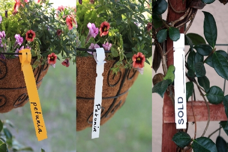 Wrap Around Tags and Plastic Tags for Your Plants DP Industries