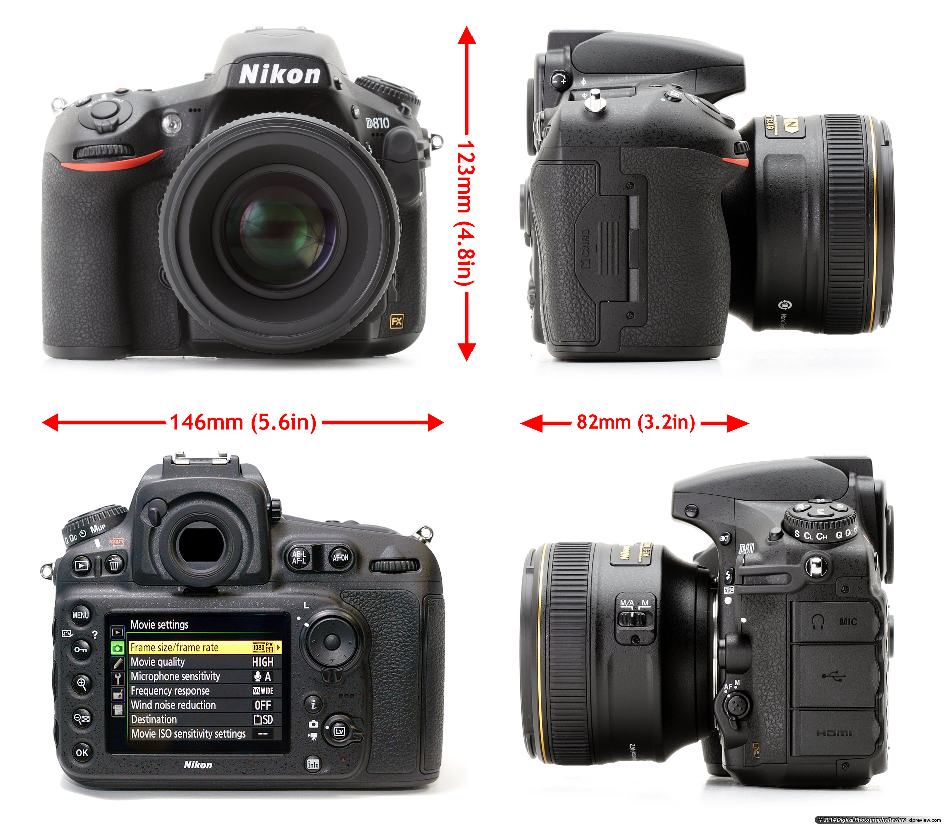 Fullsize Of Nikon D800 Vs D810