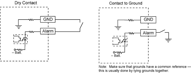 dry contact wiring diagram