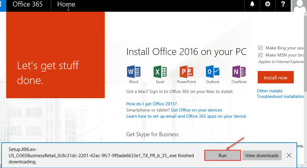 How to setup Outlook 2016 with office 365 account Office 365 Support
