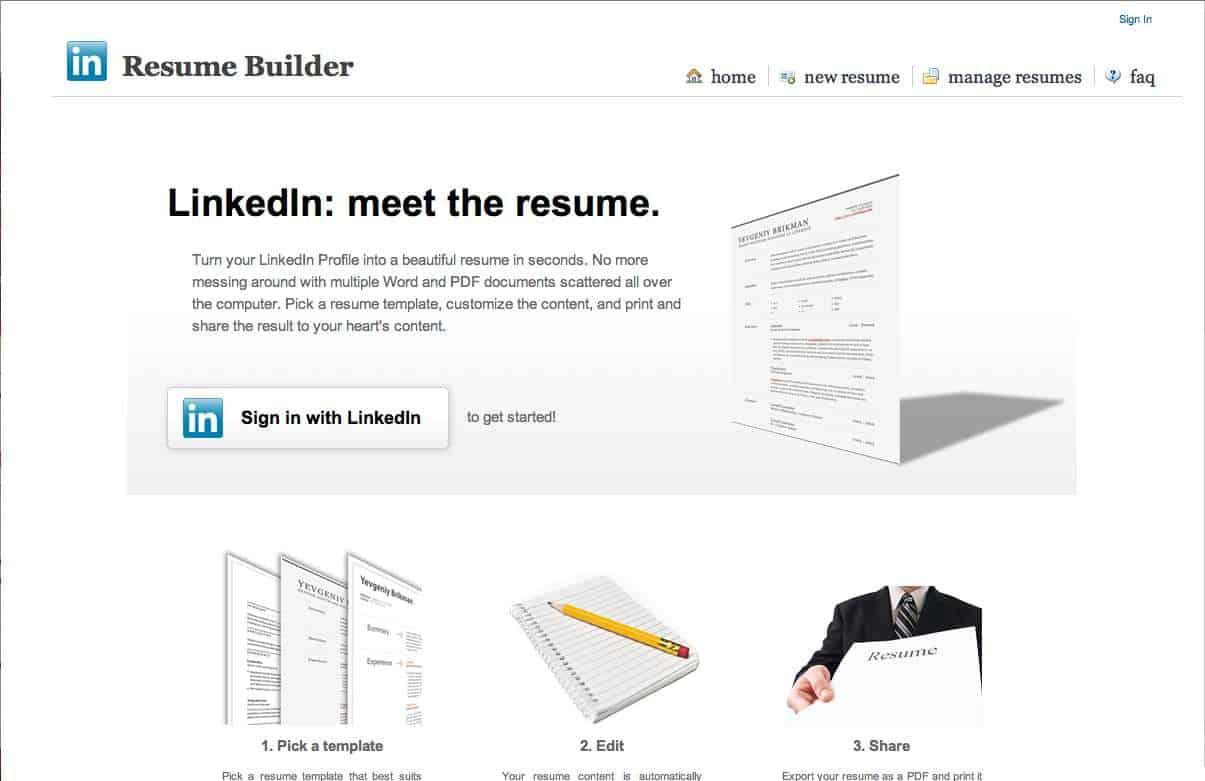 linkedin profile to resume create resume from linkedin resume