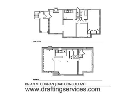 Autocad Floor Plans By Draftingservicescom