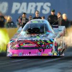 FUNNY CAR FAN-FAVORITE COURTNEY FORCE ENTERS 2016 SEASON AND CIRCLE K NHRA WINTERNATIONALS WITH HIGH HOPES