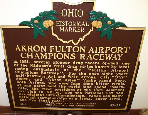 Akron Champions Historical Marker