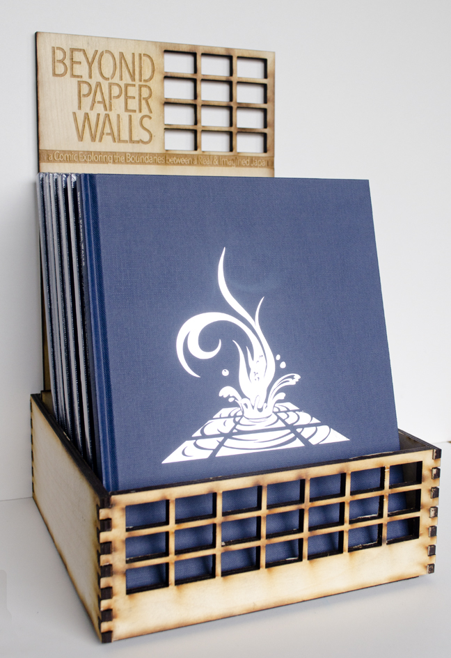 Beyond Paper Walls Laser Cut Stand