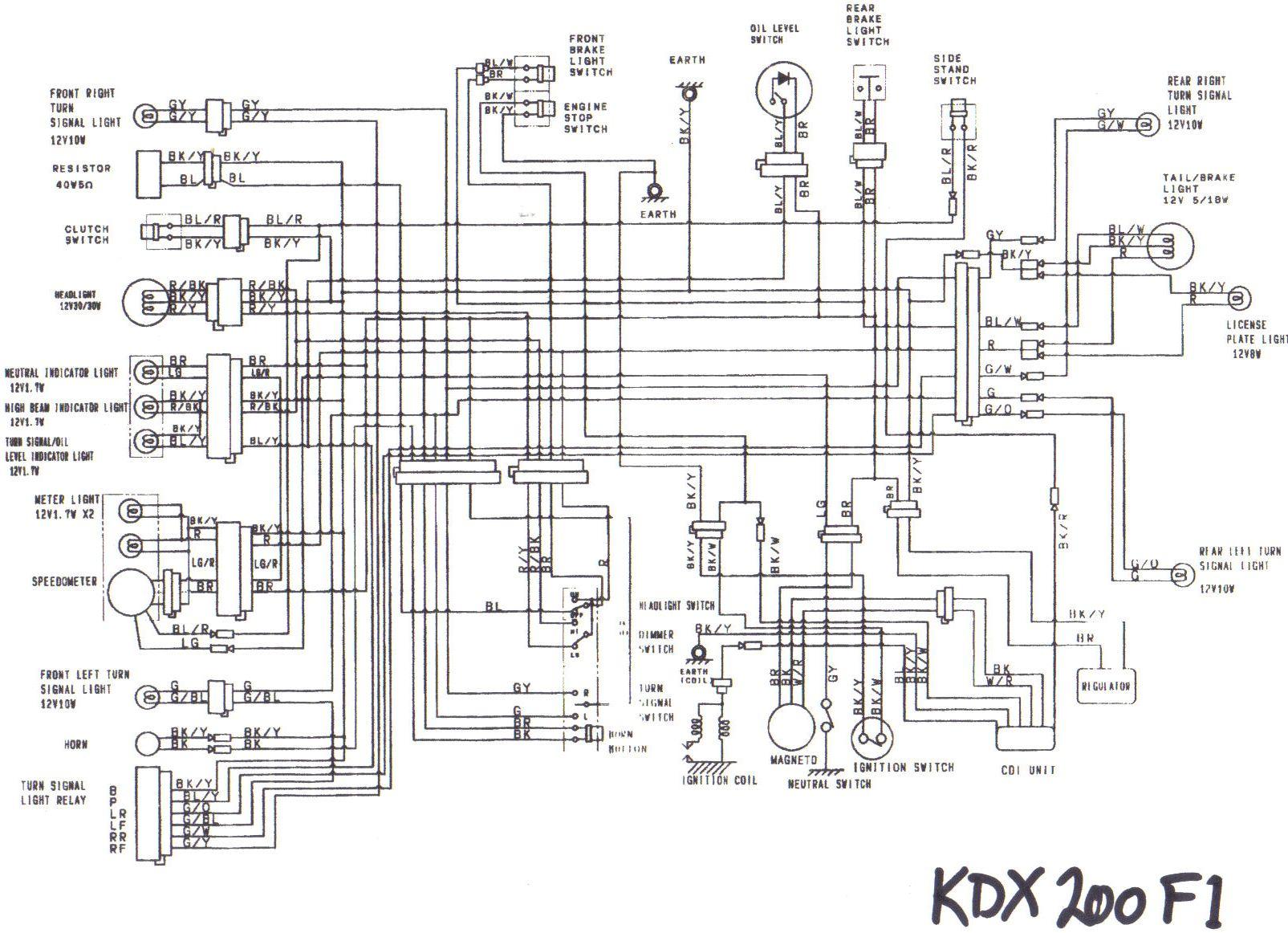 jvc kdx 200 wiring diagram
