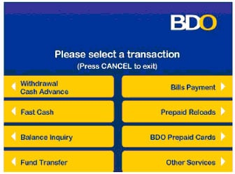 How To Activate Cash Advance On Bdo Credit Card | Gemescool.org