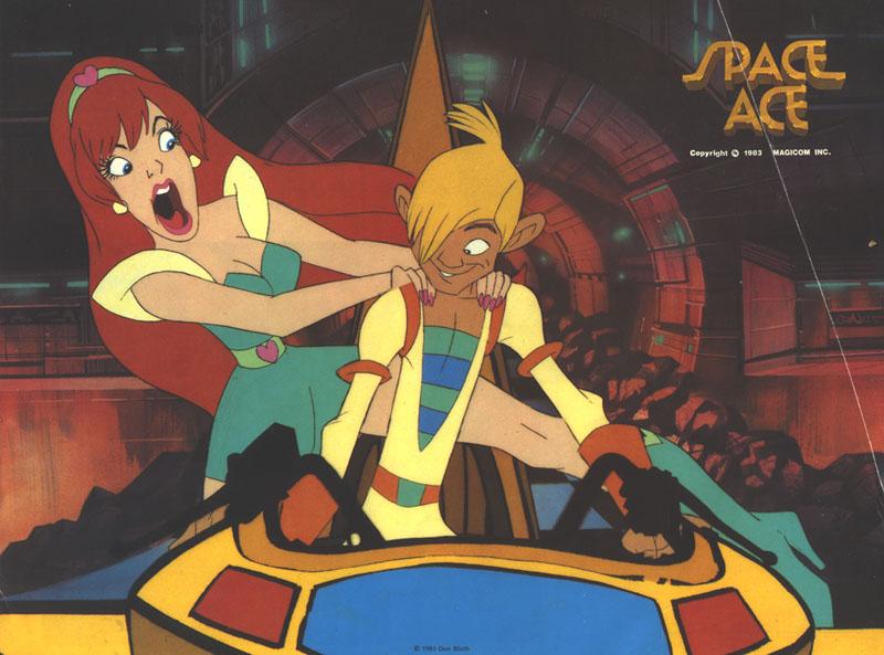 Cartoon Images Fall Wallpaper Laserdisc Game Articles