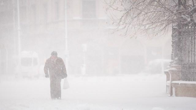 Iarna în București - Primele fotografii 14