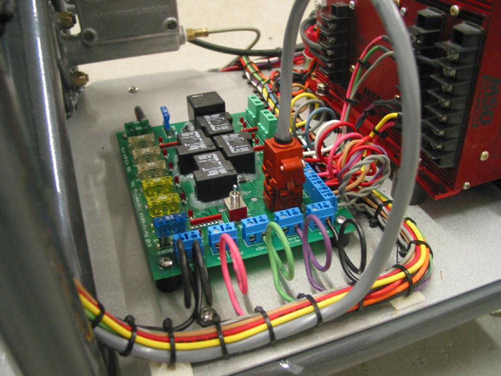 race car wiring for gauges