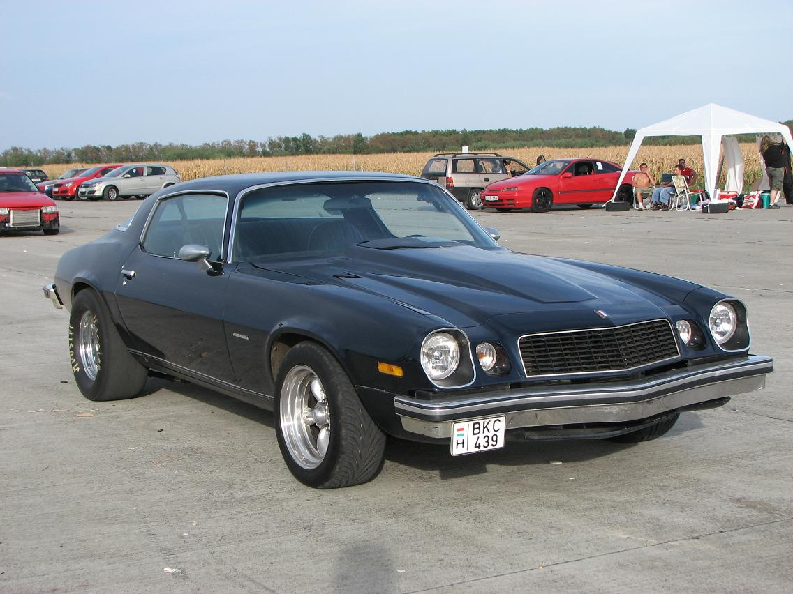 Wallpapers Of Car Corvette Convertible With Black Lights 1975 Chevrolet Camaro 1 4 Mile Drag Racing Timeslip Specs