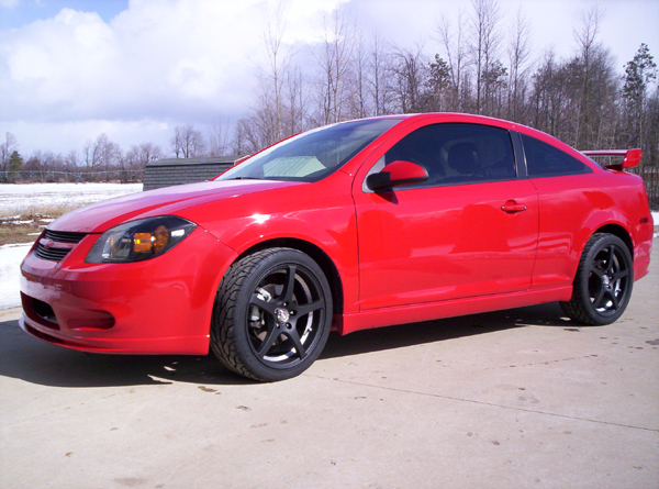 2006 Chevrolet Cobalt SS Supercharged 1/4 mile trap speeds 0-60
