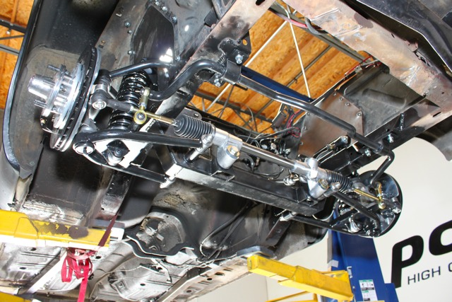 TCI Mustang Front Suspension Install on our 1965 Mustang Project