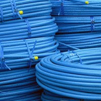 63mm Blue MDPE Water Pipe M63 - Drainage Central