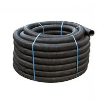 Unperforated Land Drain Coil Pipe 80mm x 100m | Drainage ...