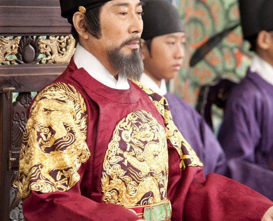 Baek Yoon-sik as King Taejong