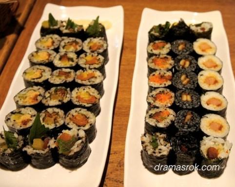 kimbap school food