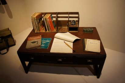 post war school desk