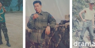mr kim in the army