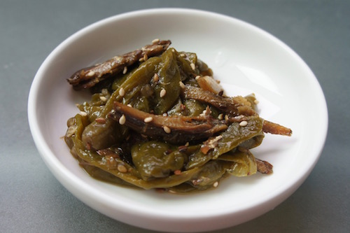 chilli anchovy side dish