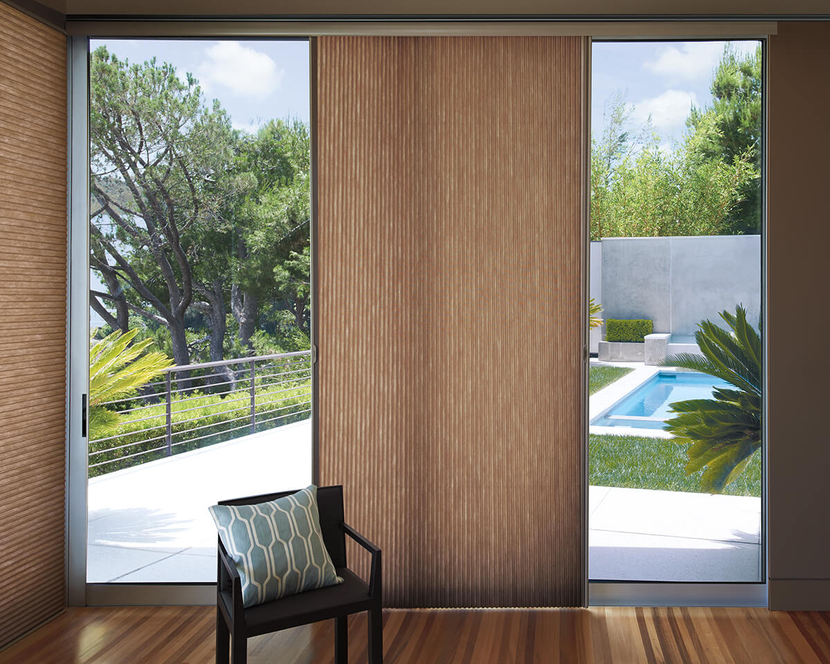 sliding glass doors drapes