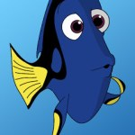 How To Draw Dori From Finding Nemo