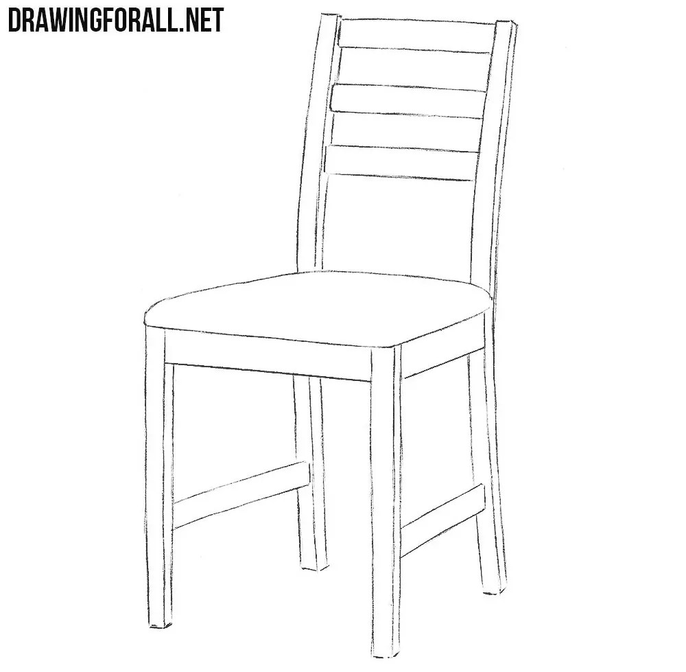 How To Draw A Chair Drawingforallnet