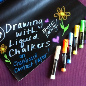 Drawing For Kids Liquid Chalkers Art